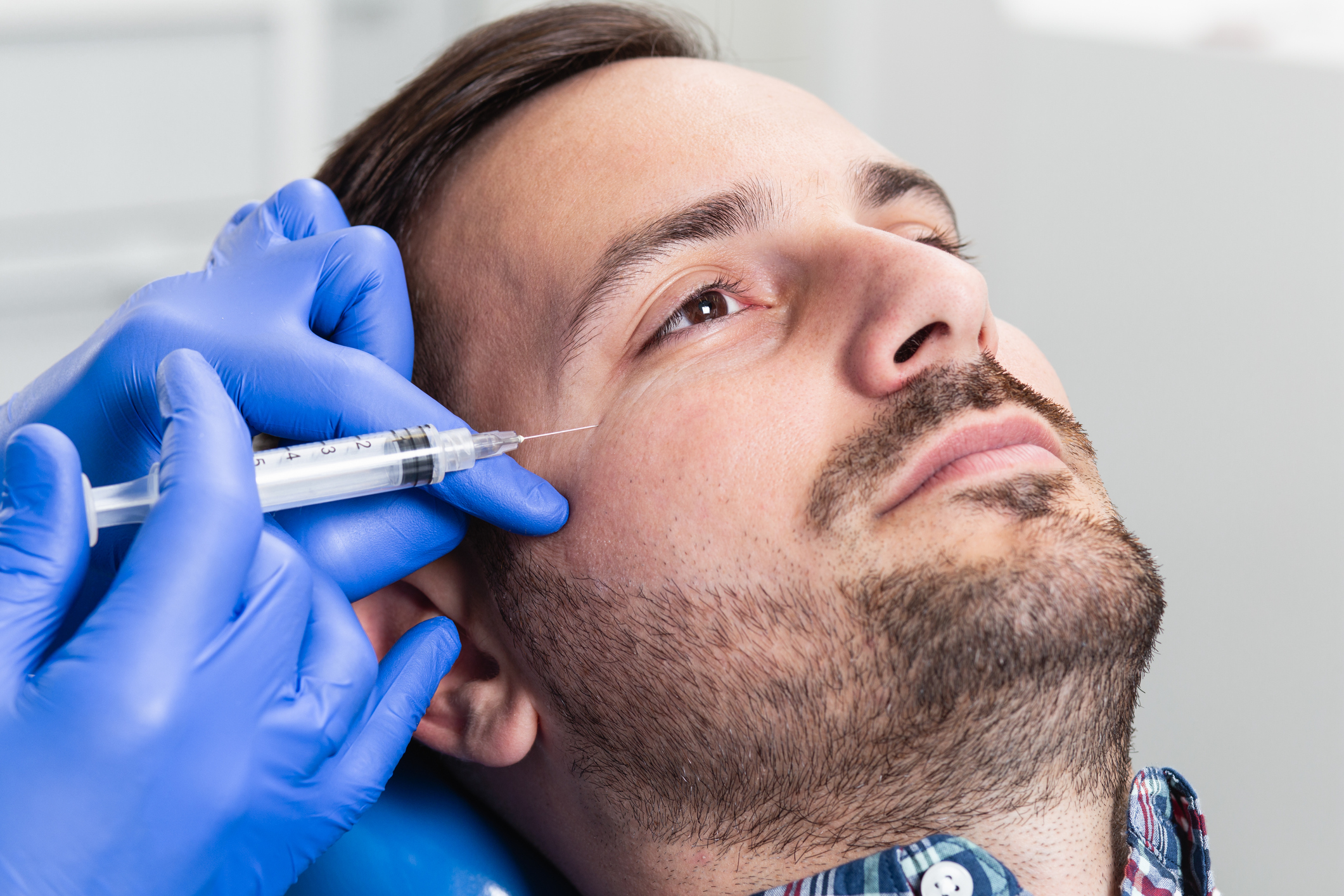 Botox and Dermal Fillers Are Great for Men Too!